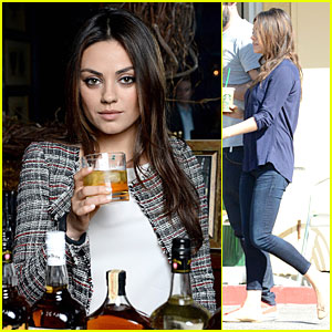 Mila Kunis Debuts Her 'Jim Beam Bourbon' Ad - Watch Now!