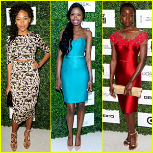 Nicole Beharie & Xosha Roquemore: Essence Luncheon 2014!