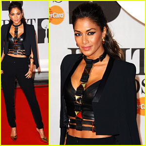 Nicole Scherzinger - BRIT Awards 2014 Red Carpet