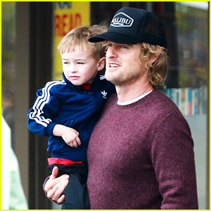 Owen Wilson is a Doting Dad After Birth of His New Son!