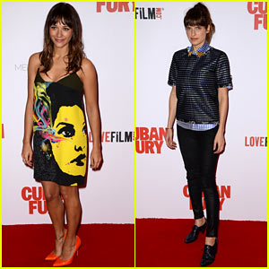 Rashida Jones is Colorful Chic for 'Cuban Fury' World Premiere!