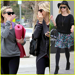 Reese Witherspoon & Naomi Watts Share Secrets After Yoga!