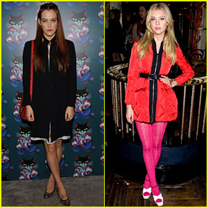 Riley Keough & Nicola Peltz Celebrate Miu Miu's 'Spark & Light,' Starring Riley Herself!