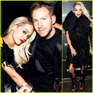 Rita Ora: BRIT Awards After Party with Boyfriend Calvin Harris!