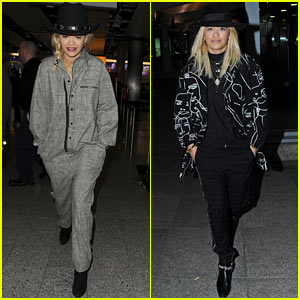 Rita Ora Makes Quick Trip to London Before Jetting to Dubai!