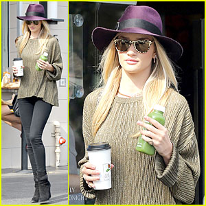 Rosie Huntington-Whiteley Turns Heads with Clover Juice!