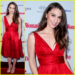 Sara Bareilles Puts On Her Little Red Dress for 'Woman's Day'
