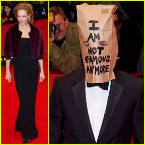Shia LaBeouf Wears Paper Bag Over His Head for 'Nymphomaniac' Berlin Premiere