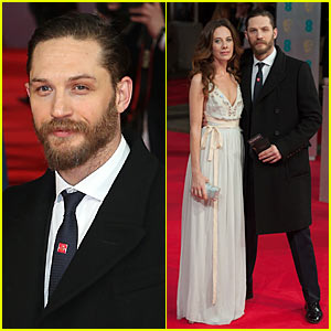 Tom Hardy - BAFTAs 2014 with Kelly Marcel!