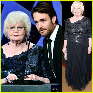 Will Forte & June Squibb - Costume Designers Guild Awards 2014