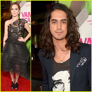 Zoey Deutch & Avan Jogia: 'Vampire Academy' Premiere Pair!