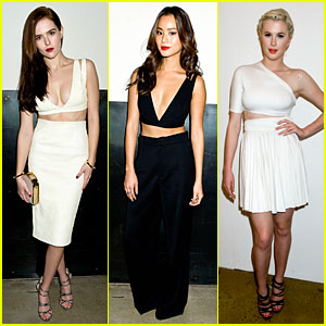 Zoey Deutch & Jamie Chung Bare Midriffs at 'Cushnie Et Ochs' Fashion Show!