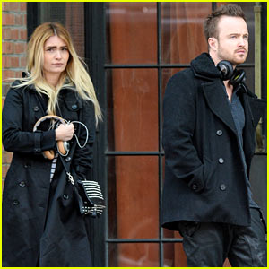Aaron Paul 'Can't Wait' to Have Kids with Lauren Parsekian, Hopes They're Mini Versions of His Wife!