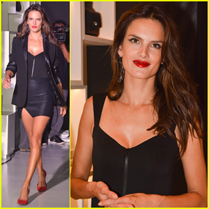 Alessandra Ambrosio Hits the Runway for the Schutz Winter Collection 2014!