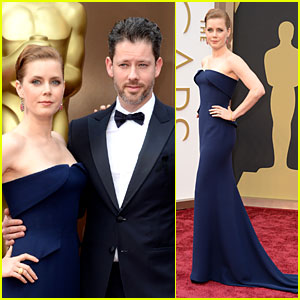 Amy Adams - Oscars 2014 Red Carpet with Darren Le Gallo