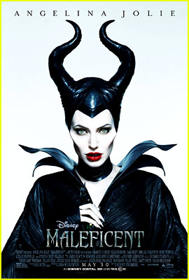Angelina Jolie is Stunningly Scary for New 'Maleficent' Po