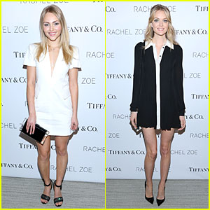 AnnaSophia Robb & Lindsay Ellington Are Living In Style By Mixing Black & White!