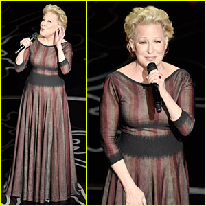 Bette Midler Performs 'Wind Beneath My Wings' at Oscars 2014 (VIDEO)