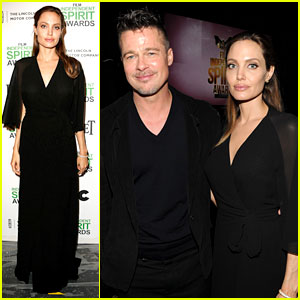Brad Pitt & Angelina Jolie - Independent Spirit Awards 2014