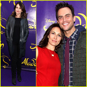 Broadway's 'Aladdin' Brings Out the Celebs on Opening Night!