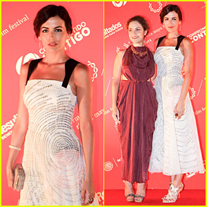 Camilla Belle Helps Close Riviera Maya Film Festival!