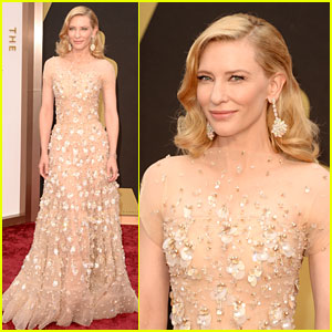 Cate Blanchett is a Red Carpet Winner at Oscars 2014!