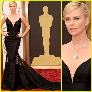 Charlize Theron Stuns in Dior Dress on Oscars 2014 Red Carpet