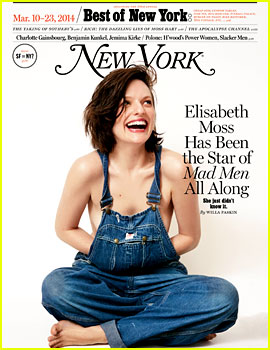 Elisabeth Moss Goes Topless, Talks 'Horrible' Marriage to Fred Armisen