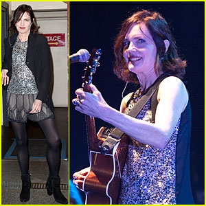 Elizabeth McGovern Shows Her Musical Side with Sadie And The Hotheads!