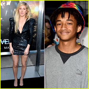 Ellie Goulding & Her Beating Heart Attend 'Divergent' Premiere!