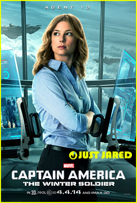 Emily VanCamp is Agent 13 in New 'Captain America' Character Poster! (Exclusive)