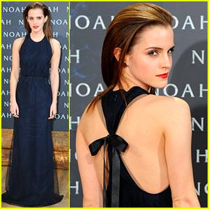 Emma Watson Begins 'Noah' Press Tour, Premieres Film in Berlin!