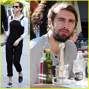 Emma Watson Loves Lunch with Boyfriend Matthew Janney Overall!
