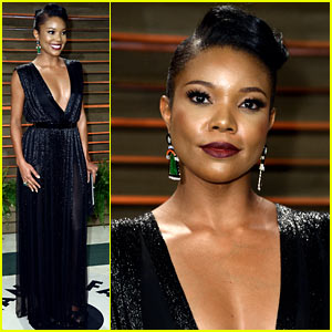 Gabrielle Union Hits the Vanity Fair Oscars Party 2014, Loved Lupita Nyong'o's Oscars Look!
