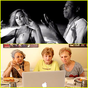 Three Grandmas Read Beyonce's 'Drunk in Love' Lyrics & Their Reactions Are Hilarious - Watch Now!