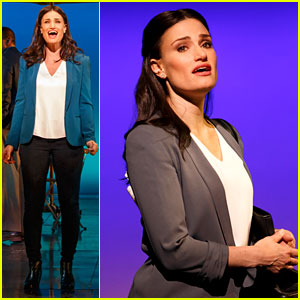 Idina Menzel Officially Returns to Broadway Tonight in 'If/Then' - Photos & Video Preview!