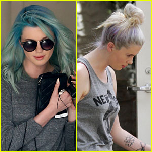 Ireland Baldwin Leaves Her Purple Hair Behind for New Blue 'Do!