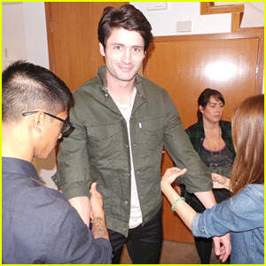 Crisis' James Lafferty: JJ Spotlight Series (Behind the Scenes Photos)