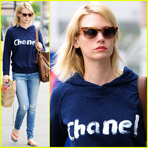 January Jones' 'Mad Men' Co-Star Jon Hamm Weighs In on Betty & Don Relationship