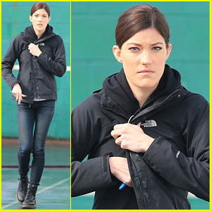Jennifer Carpenter Finishes Up Filming 'Sea of Fire' in Canada