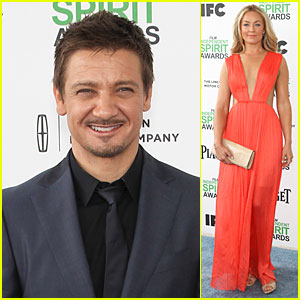 Jeremy Renner & Elisabeth Rohm Exude 'American Hustle' Aura at Independent Spirit Awards 2014!