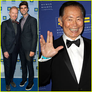 Jesse Tyler Ferguson Supports Equality Alongside Star Trek's George Takei!
