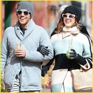 Jessica Alba Steps Out in New York City with Brother Joshua!
