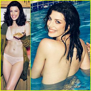 Mad Men's Jessica Pare Strips Down, Skinny Dips for Steamy 'Esquire' Feature