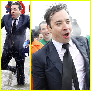 Jimmy Fallon Takes the Polar Plunge in Chicago!