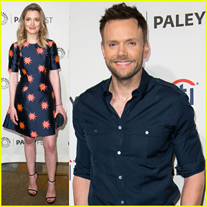 Joel McHale & Gillian Jacobs Help Honor 'Community' at PaleyFest!