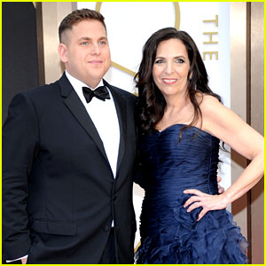 Jonah Hill Brought His Mom Sharon to the Oscars 2014!