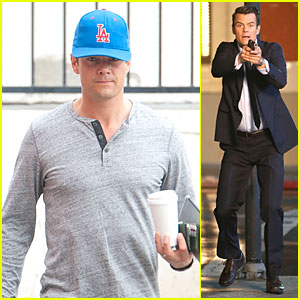 Josh Duhamel Scares the Bad Guys with a Gun for 'Battle Creek'!
