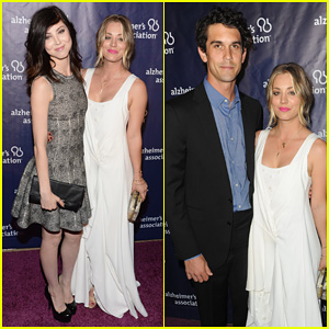 Kaley Cuoco Attends A Night At Sardi's with Ryan Sweeting & Sister Briana!