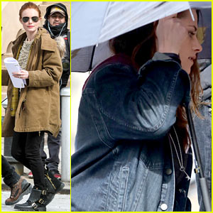 Kate Bosworth & Kristen Stewart Get Ready to Work on 'Still Al